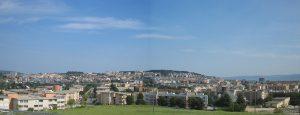 Panoramski pogleg na moderno Matero. Foto: Mateola. CC BY-SA 3.0