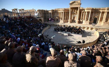 Koncert v Palmiri.