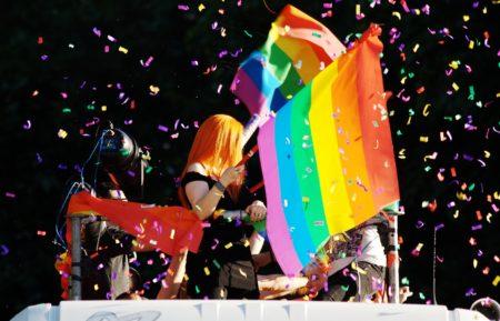 Parada ponosa.