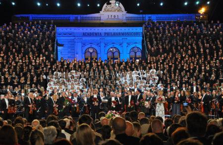 Koncert na Kongresnem trgu.