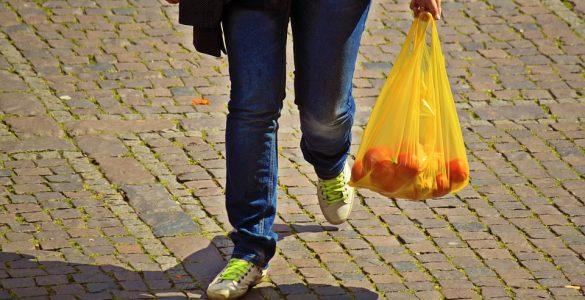 Plastične vrečke. Vir: Pixabay