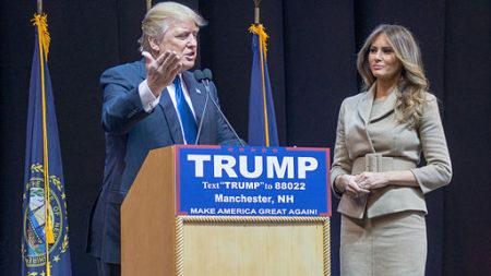Donald in Melania Trump