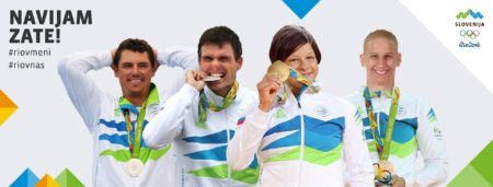 Dobitniki medalj v Riu.