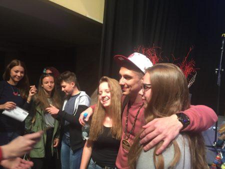 Nipke in mlade udeleženke natečaja Evropa v šoli.
