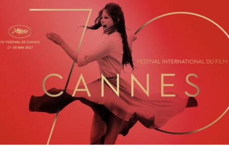Uradni plakat jubilejnega festivala v Cannesu.