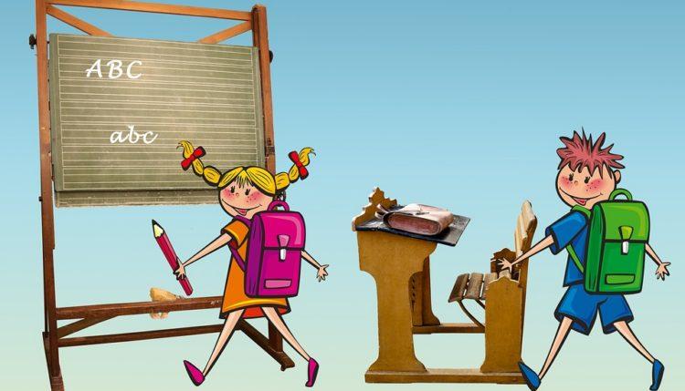 Prvi šolski dan.