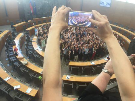 Otroški parlament. Foto: Sonja Merljak/Časoris