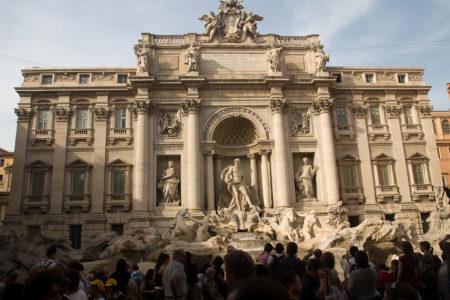 Vodnjak Trevi v Rimu. Foto: Frederic Stevens/Arhiv AV vsebin EK.