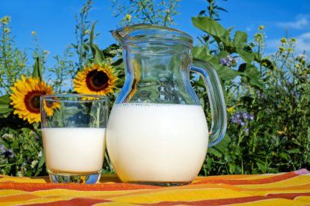 Mleko je skoraj popolno živilo. Vir: Pixabay