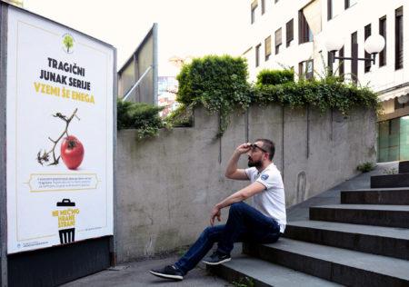 Ne meč'mo hrane stran. Foto: Maša Kores/Očistimo si
