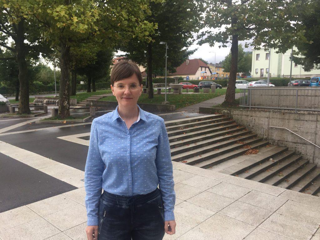 Martina Erjavec. Foto: Sonja Merljak/Časoris
