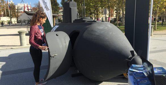 Podmornica prihodnosti. Foto: Sonja Merljak/Časoris