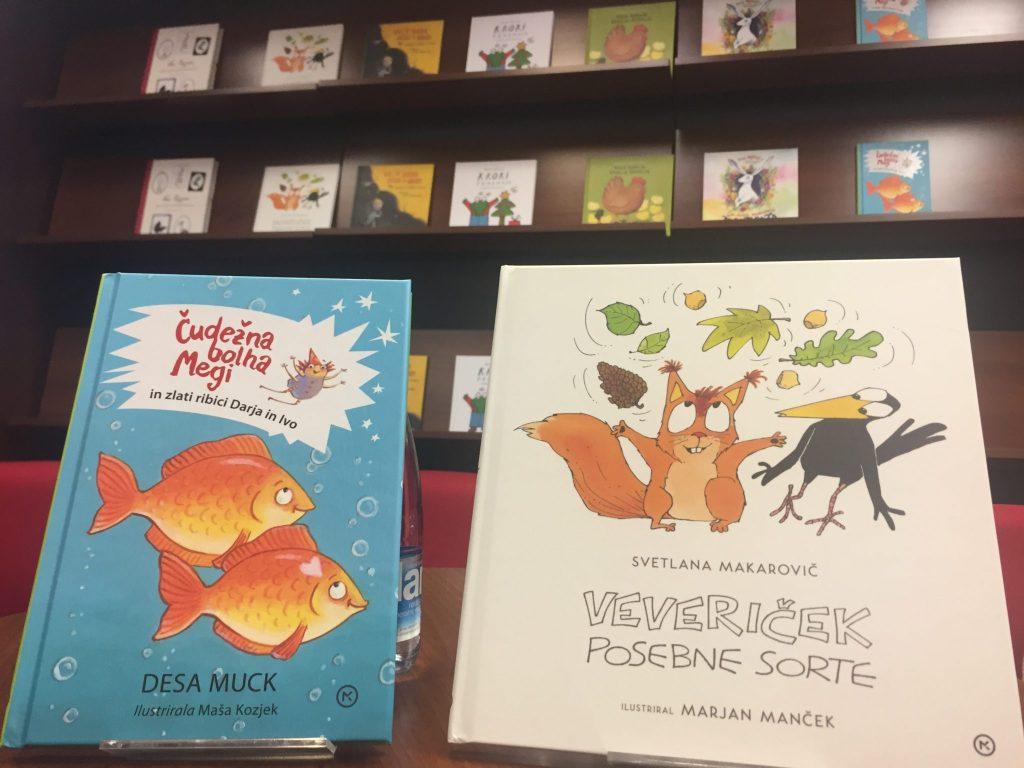 Nove knjige prihajajo med mlade bralce. Foto: Sonja Merljak/Časoris