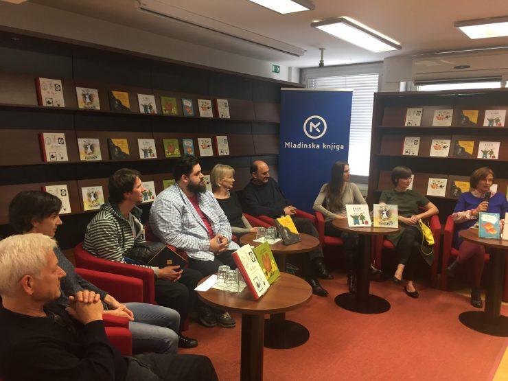Predstavitev knjig za otroke v Mladinski knjigi. Foto: Sonja Merljak/Časoris
