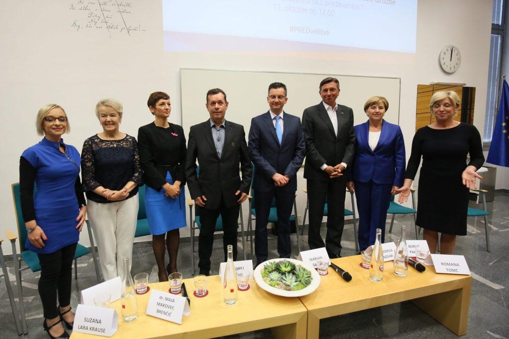 Soočenje kandidatov. Foto: Matej Pušnik/MSS