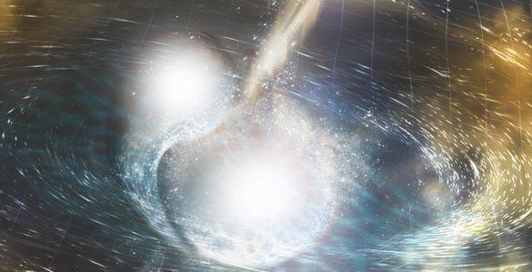 Trk zvezd. Vir: NSF/LIGO/Sonoma State University/A. Simonnet