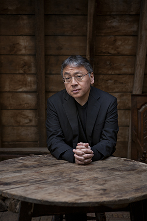 Kazuo Ishiguro. Foto: Jeff Cottenden/NobelPrize.org