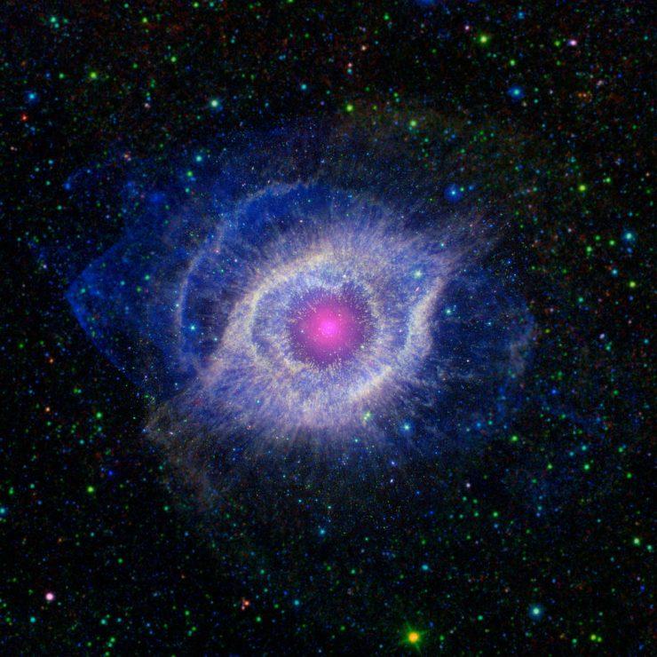 Meglica Helix. Vir: NASA/JPL-Caltech