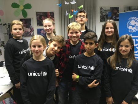 Junior ambasadorji Unicefa. Vir: Unicef Slovenija