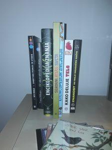 Knjige. Foto: Maša Rener