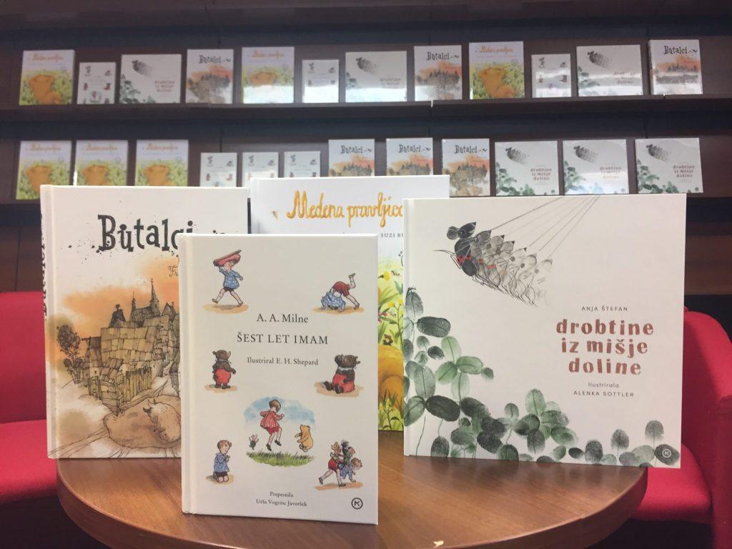 Nove knjige za otroke. Foto: Sonja Merljak/Časoris