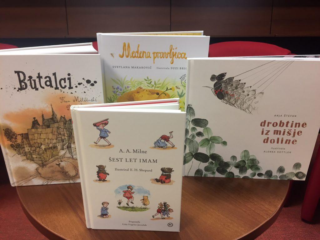 Nove knjige založbe Mladinska knjiga. Foto: Sonja Merljak/Časoris