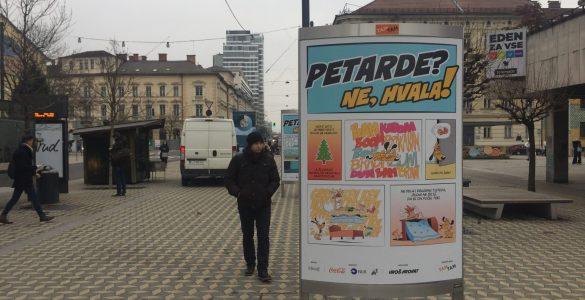 Petarde, ne hvala. Foto: Sonja Merljak/Časoris