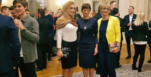 Naj športnik 2017 Ilka Štuhec. Vir: Mizš
