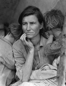 Migrantska mati. Foto: Dorothea Lange/Wikimedia