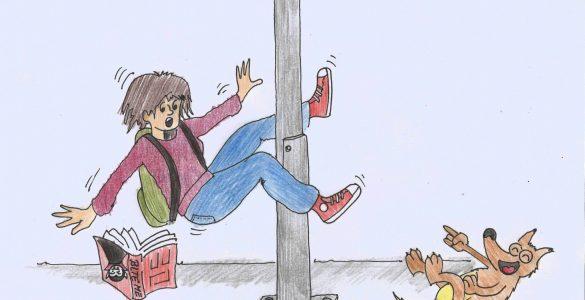 Drugačnost. Ilustracija: Miha Klenovšek