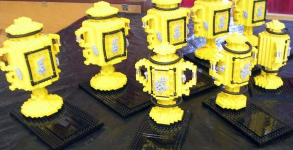 Trofeje iz lego kock. Foto: Cmglee/Wikimedia