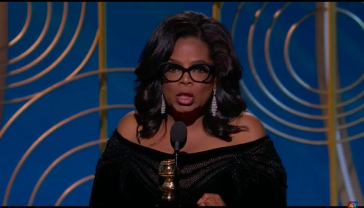 Oprah Winfrey. Vir: Posnetek zaslona/You Tube