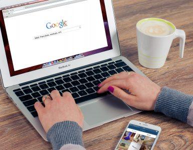 Google. Credit: Pexels