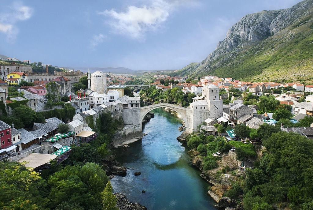 Mostar. Vir: Wikipedia.