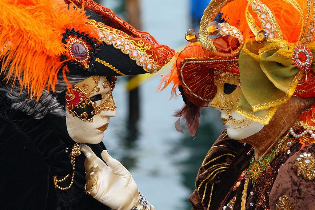 Pust v Benetkah. Vir: Wikipedija