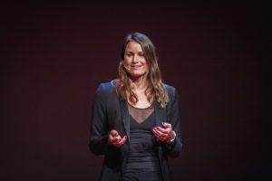 Sara Isaković. Vir: TEDxLjubljana/Flickr