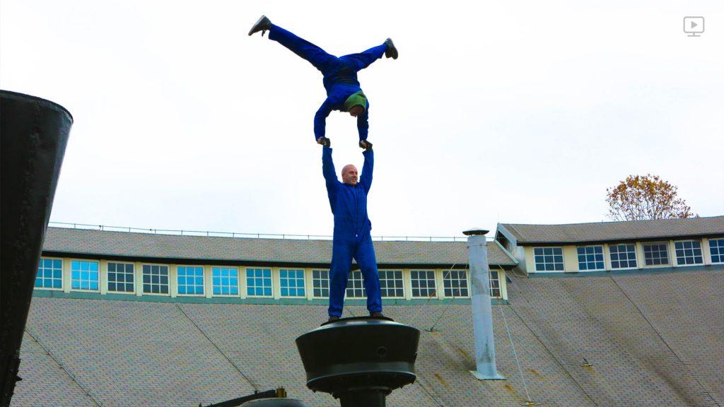 Filip in Blaž. Vir: Dunking Devils