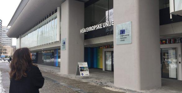 Modernizem in arhitektura Hiše EU. Foto: Sonja Merljak/Časoris