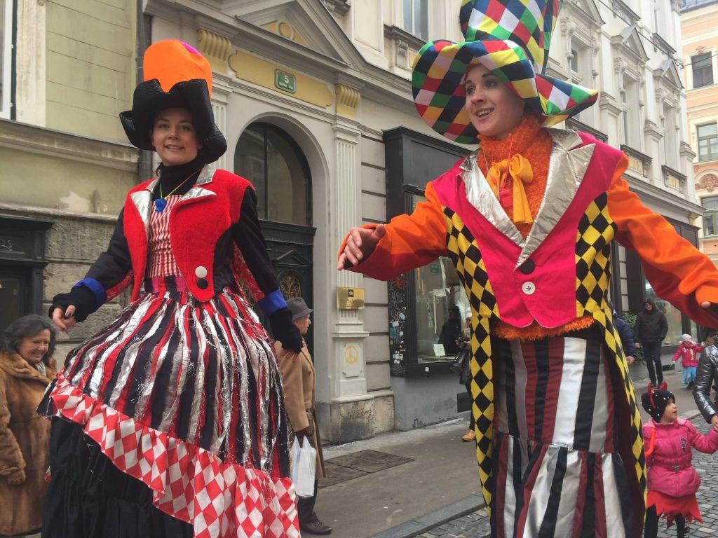 Pust v Ljubljani. Foto: Sonja Merljak/Časoris