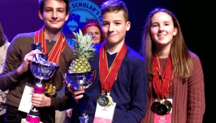 World Scholar's Cup. Vir: Arhiv OŠ Danile Kumar