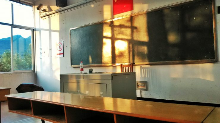 Classroom. Credit: Pixabay