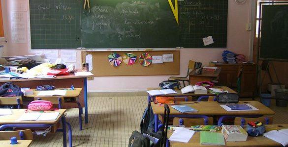 Stavka v šolstvu. Vir: Wikimedia