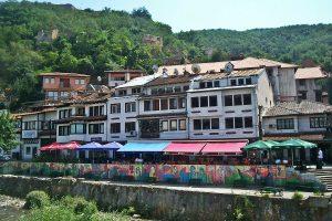 Prizren, staro mestno jedro. Vir: Wikipedia
