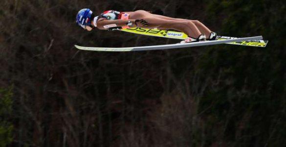 Poljski smučarski skakalec Maciej Kot lani v Planici. Foto: Stanko Gruden/STA