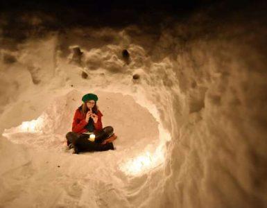 Igranje na snegu. Foto: Tamara Petelinšek/STA