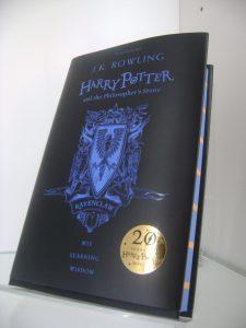 Ponatis prve knjige Harryja Potterja. Foto: Julija Uršič