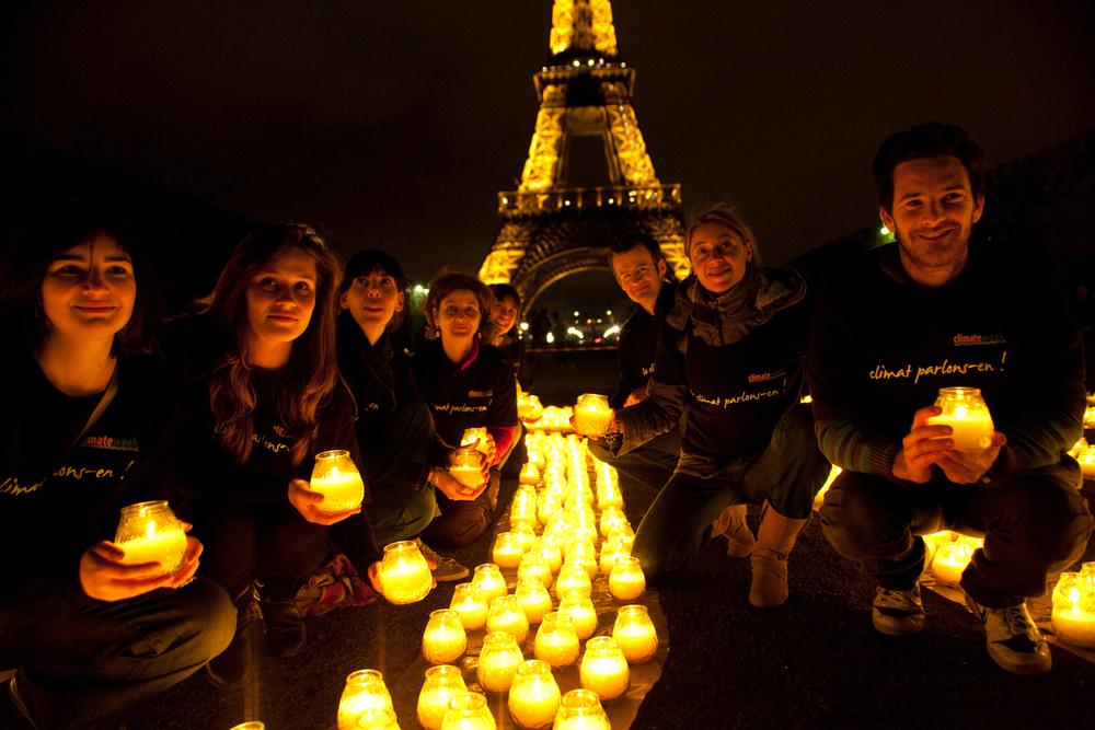 Ura za zemljo v Parizu leta 2010. Foto: Nina Munn/WWF