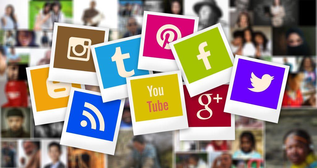 Družabna omrežja. Vir: Pixabay