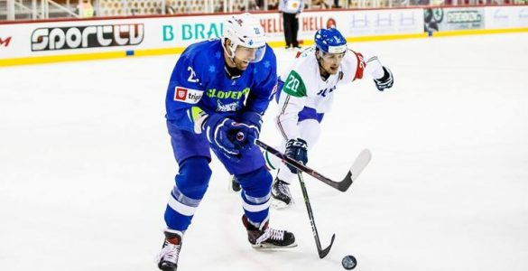 Prvenstvo skupine B v hokeju. Foto: László Mudra/Hokejska zveza Slovenije/Facebook
