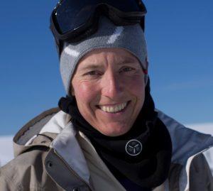Nataša Briški. Vir: Ženska Evro-arabska odprava na Severni tečaj 2018 (The Women's Euro-Arabian North Pole Expedition 2018)